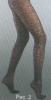 АЖУР 40 DEN - элегантные фантазийные колготки. Арт. 534к-2. Світ текстилю та трикотажу